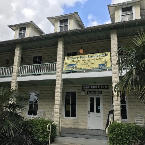 Fort Lauderdale Historical Society: New River Inn
